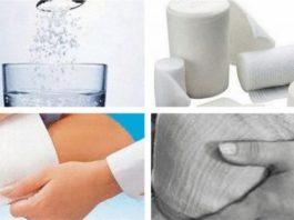 Солевые повязки — лечение солью