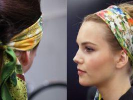 Платок на голову: 10 идеальных примеров того, как носить эту модную вещь!