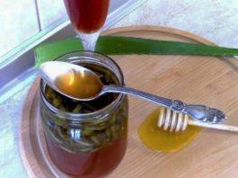 Алоэ с медом и κагοрοм — трοйная сила